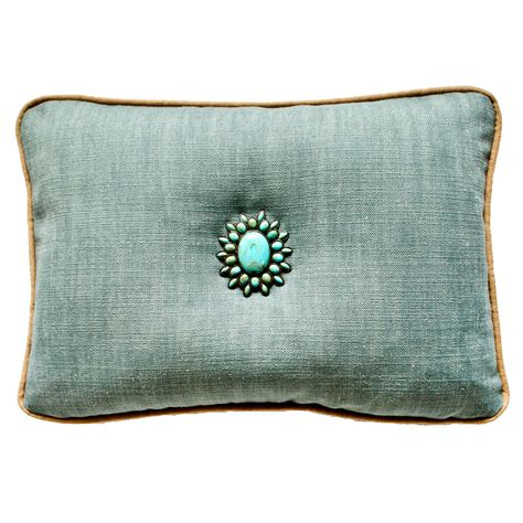 canberra linosa turquoise accent pillow 20 x 26