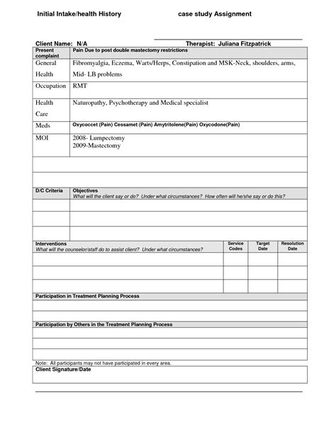 psychotherapy treatment plan template treatment plan template cyberuse