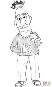 Bert Coloring Page Free Printable Coloring Pages Bert And Ernie Coloring Pages