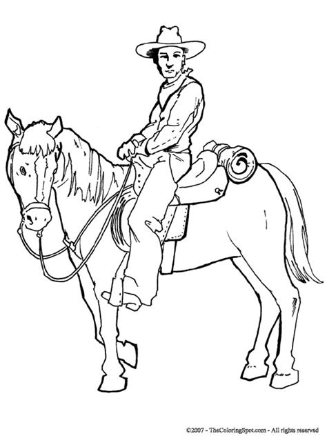 cowboy horse coloring page cowboy horse 3 audio stories for kids free coloring