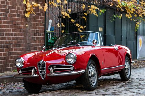 Alfa Romeo Veloce Spider by Just Listed 1962 Alfa Romeo Giulietta Spider Veloce