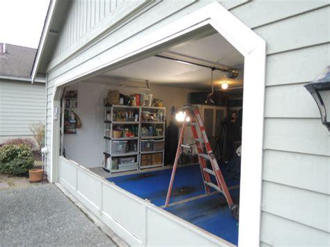 Garage Door Repair Kirkland Garage Door Bent Panel Repair In Kirkland Wa By Elite Tech Services Llc