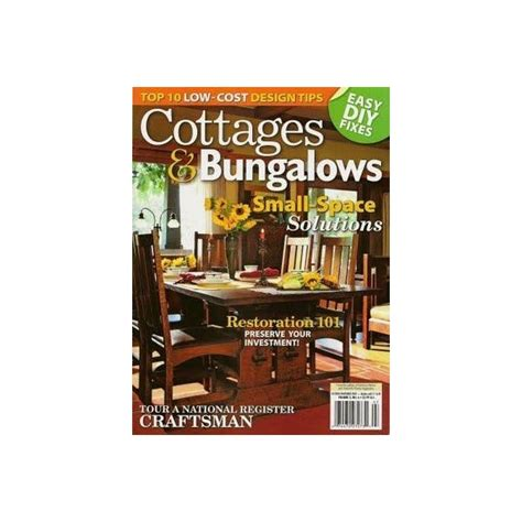 cottages and bungalows magazine cottages bungalows magazine subscription magazinenook