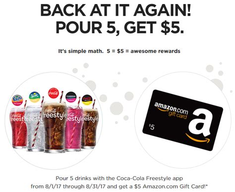 Best Place To Buy Disney Gift Cards - get a 5 amazon gift card from coca cola