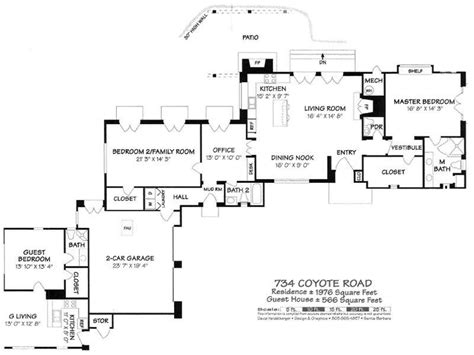 gwu floor plans george washington smith inspired spanish montecito ca