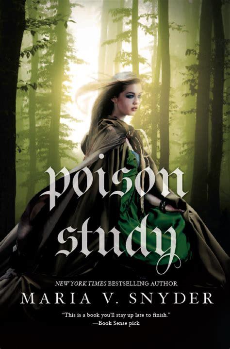 poison study study book 1 cover spotlight v snyder s shadow study the
