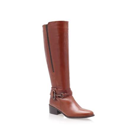 carvela kurt geiger willing boots in brown lyst
