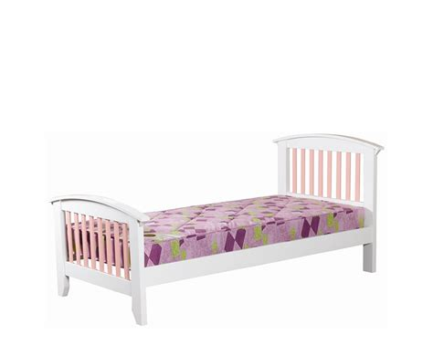 pink bed frame cameo off white kids bed frame 10 day express uk delivery