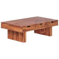 massivholz wohnzimmer couchtisch massivholz sheesham design wohnzimmer tisch