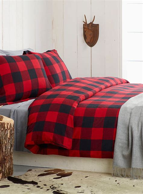 red plaid comforter 25 best ideas about plaid bedding on pinterest winter