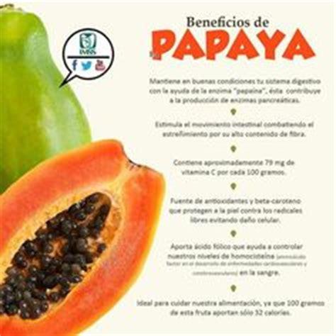 propiedades medicinales de la papaya botanica beneficios de la papaya saber y estar saludables pinterest