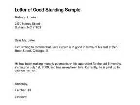 letter of standing template character reference house rental search results