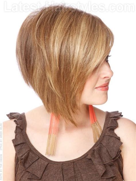 angeled bob haircuts for round faces pinterest the world s catalog of ideas