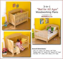 Crib To Bed Age Build Your Own Bed Plans