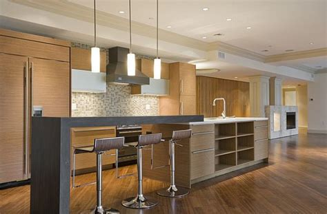 modern kitchen island with seating modern kitchen with counter seating for kids and island