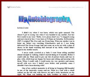 biography template for students 14 exles of autobiography for students sendletters info