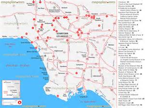 california map with tourist attractions related keywords suggestions for los angeles location map