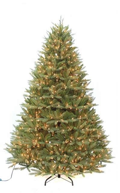 12 foot white christmas 2000 lights 9 ft artificial crestwood fir tree pre lit 2000 clear lights