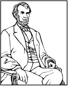 abraham lincoln coloring page abraham lincoln coloring page purple