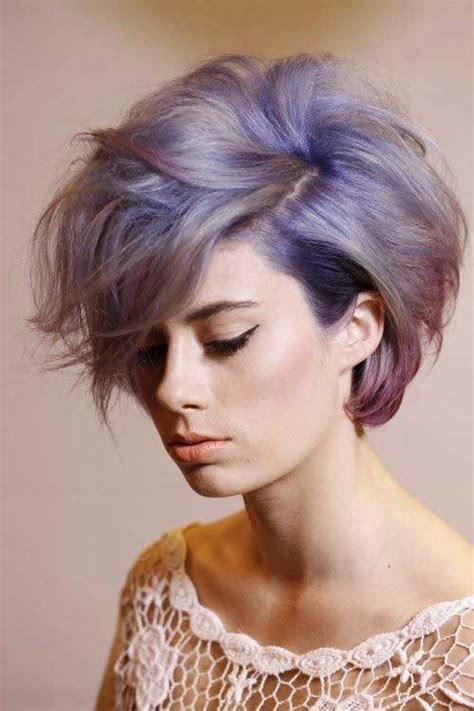 colorful short haircut short hair 2014 trends short hairstyles 2017 2018