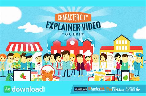 10 Best Free Explainer Video After Effects Templates Download Free After Effects Templates Free Explainer Templates
