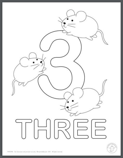 learning numbers coloring pages for kids