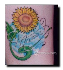 small sunflower tattoos on ankles more tattoo designs