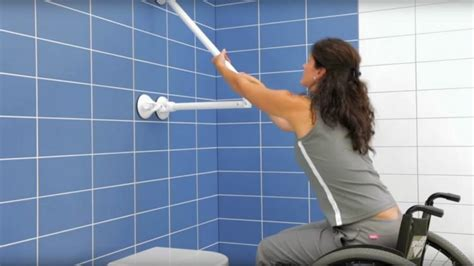 bathtub support bars mobeli provides versatile bathroom support for seniors and