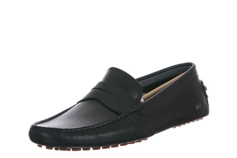 lacoste loafers lacoste s concours 9 srm lth loafers in navy 7