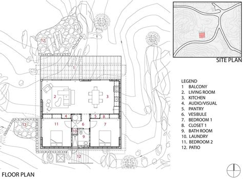 house design plans usa floor plan rock reach house mojave desert california usa
