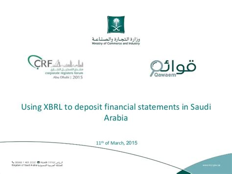 Fresh Mba In Saudi Arabia by Using Xbrl To Deposit Financial Statements In Saudi Arabia