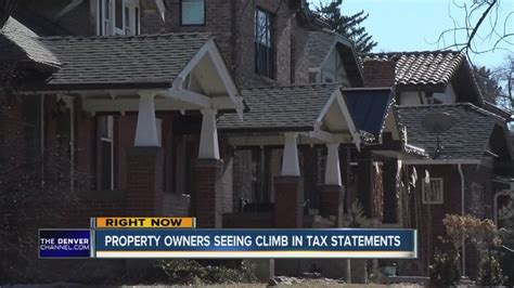 Denver Property Tax Records Property Tax Statements Hold Big Homeowners Seeing Sizeable Jump In Tax