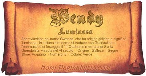vanitosa significato significato nome wendy