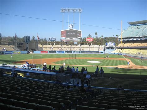 section eleven dodger stadium section 11 rateyourseats com