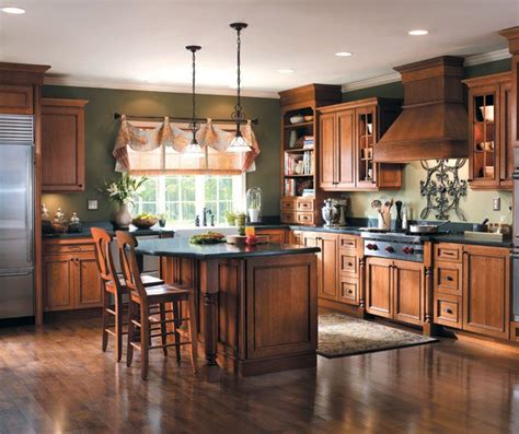 rustic hickory kitchen cabinets rustic hickory kitchen cabinets for the home pinterest