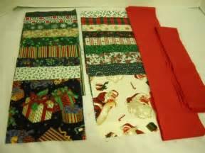 Table Runner Quilt Kits by Fabric Quilt Kit Table Runner Santa