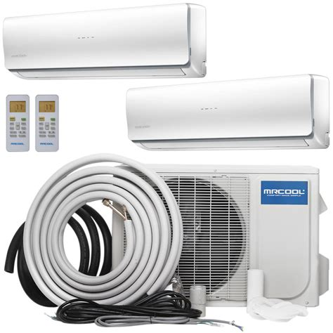 ductless split wall air conditioner ramsond 24 000 btu 2 ton ductless mini split air
