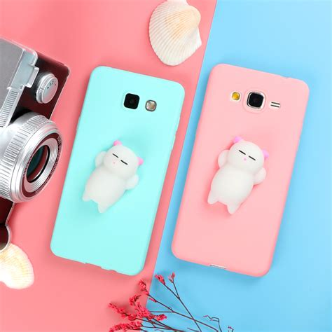 Samsung Galaxy J5 Pro Squishy 3d Soft Back Casing Cover squishy 3d phone cases for coque samsung