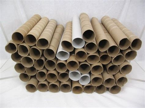 Empty Paper Towel Roll Crafts - 50 clean empty cardboard paper towel rolls craft