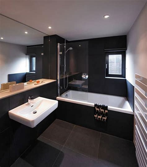 Black Bathrooms Ideas by Black Bathroom Decorations And Black Bathroom Decoration