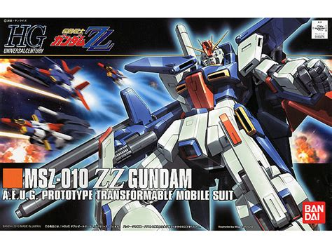 Bandai Zz Gundam 1 144 by 1 144 Hguc Msz 010 Zz Gundam By Bandai Hobbylink Japan