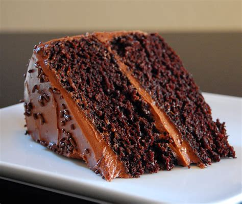Test Kitchen The Internets Most Chocolate Cake by Chocolate Cake Recipe Dishmaps
