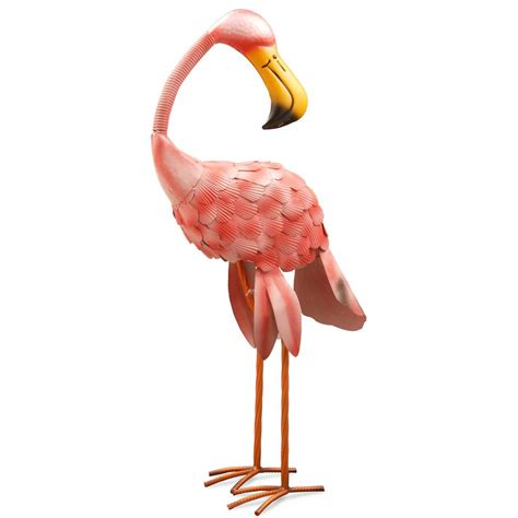 national tree company 32 in metal pink flamingo ras