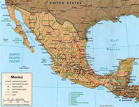 map of mexico and belize driving through nmexico to belize december 2002