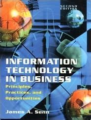 information technology  business principles practices