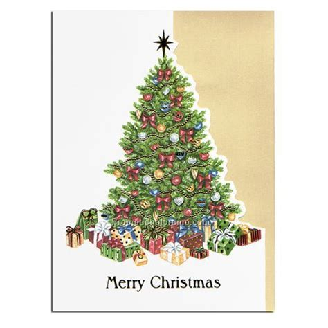 holiday card christmas tree china wholesale