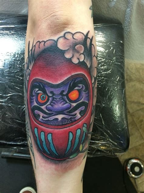 hattiesburg tattoo robbie daruma doll japanese daruma doll luck