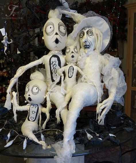 joe spencer s gathered traditions folk art ghost family