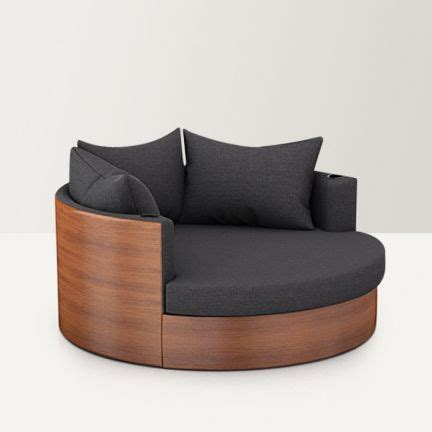furniture globus single seater sofa dark grey