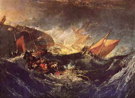 the wreck of the the wreck of a transport ship c 1810 william turner wikiart org
